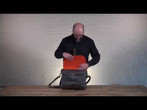 Classic Laptop Messenger Bag Video