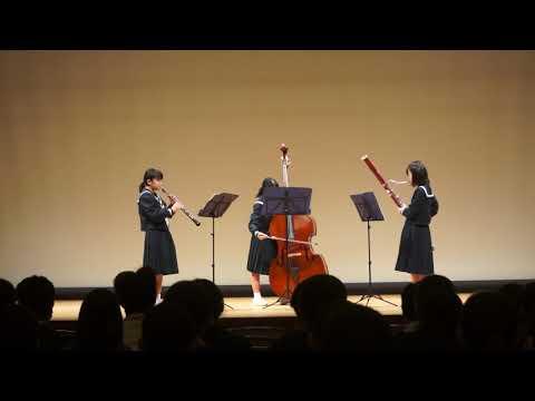 20190210第37回ひとまるアンコン中ホール33.大久保中学校 木管3重奏