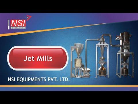 Jet Mills ( Fluid Energy Mill)