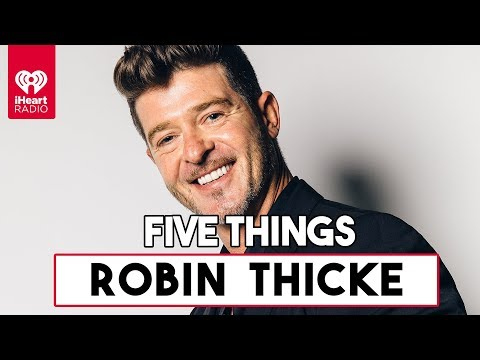 "5 Things About Robin Thicke's Single ""That's What Love Can Do""  