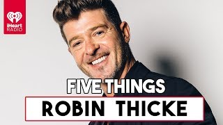 """5 Things About Robin Thicke's Single """"That's What Love Can Do""""  