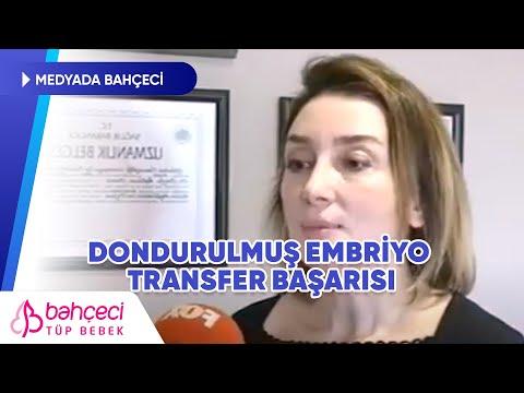 Fox TV – Dondurulmuş Embriyo Transfer Başarısı – Doç. Dr. Berfu Demir