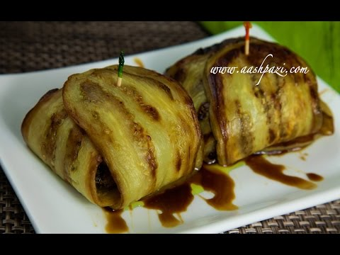 Video Eggplant Wrap Recipe 4K