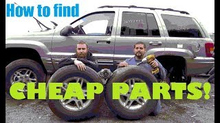 How to find CHEAP PARTS and WIN at the U-Pull Junk Yard: D&E in the U-Pull 1