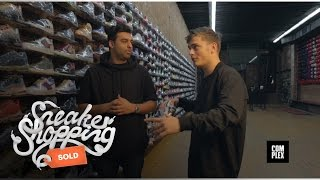 Martin Garrix Goes Sneaker Shopping With Complex