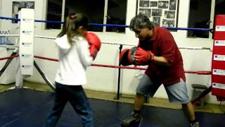 8 year old boxing focus mitts