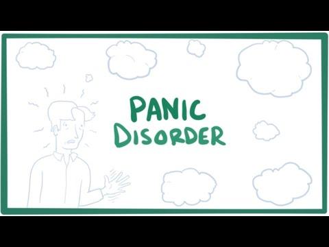 Panic disorder - panic attacks, causes, symptoms, diagnosis, treatment & pathology