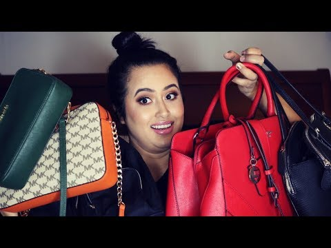 MY HANDBAG COLLECTION! | MICHAEL KORS, GUESS, CALVIN KLEIN