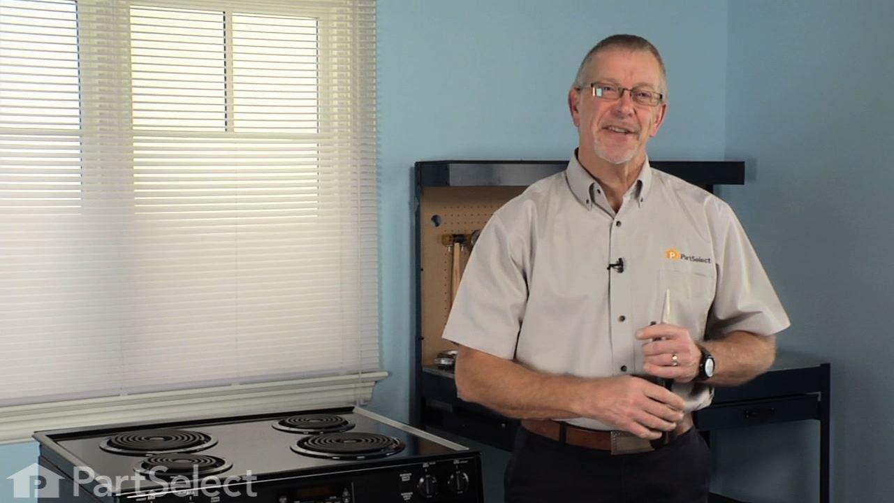 Replacing your Kenmore Range Bake Element