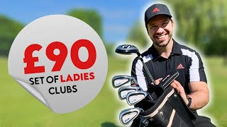 Playing With A Set Of LADIES GOLF CLUBS