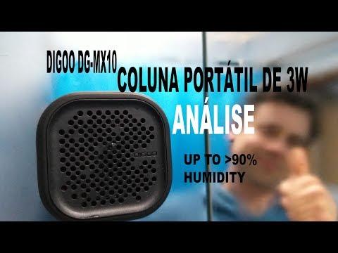 DG-MX10 Coluna Portátil - Análise e Teste