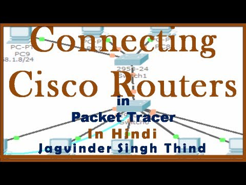how to use cisco packet tracer in hindi