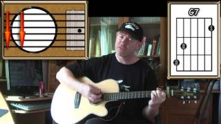Across The Universe - The Beatles - Acoustic Guitar Lesson (easy-ish)