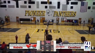Volleyball Sectional @ Pioneer Tri-County vs South Newton