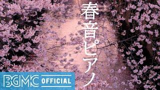 春音ピアノ: Spring Relaxed Morning - Calm Piano Instrumental Music for Chill and Watch Cherry Blossoms