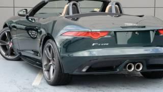 2016 Jaguar F-TYPE X152 MY17 Quickshift RWD British Racing Green 8 Speed Seq Manual Auto-Clutch