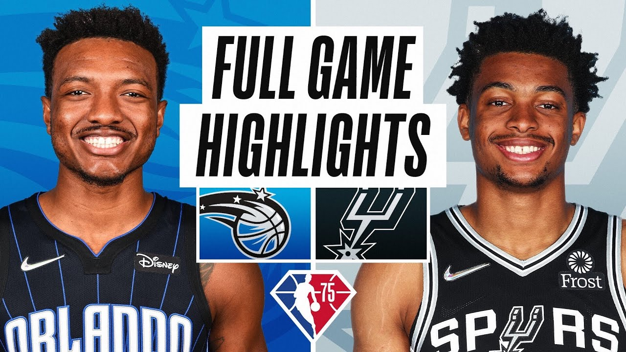 MAGIC at SPURS | FULL GAME HIGHLIGHTS | October 20, 2021