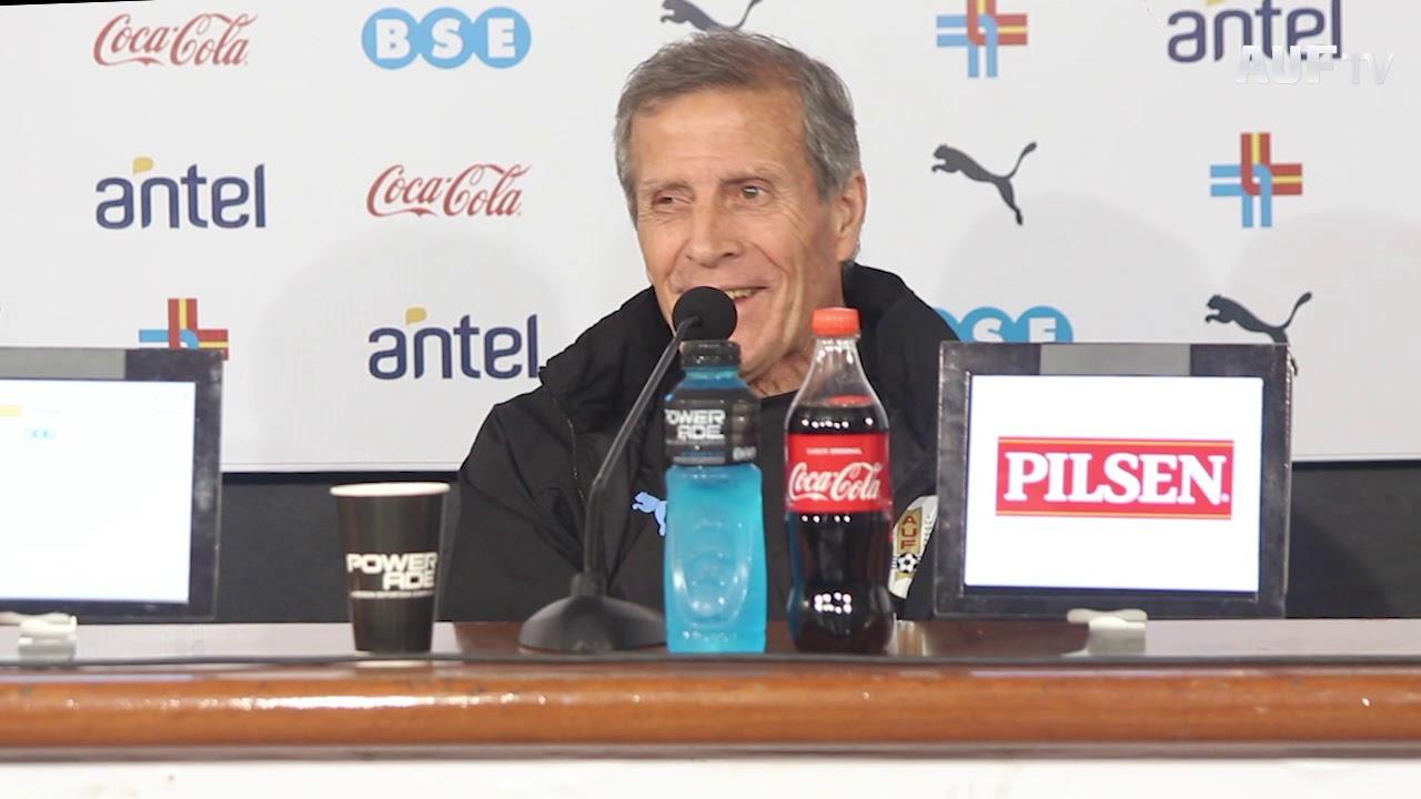 Conferencia de Tabárez tras el amistoso ante Perú