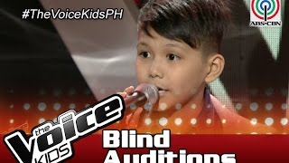 The Voice Kids Philippines Blind Auditions 2016: 'Think Of Laura' by Julian