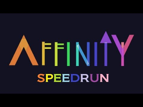 AFFINITY (Any%) speedrun in 24m21s (WORLD RECORD)