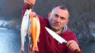 РЫБА ФОРЕЛЬ. Готовим Рыбу ФОРЕЛЬ на природе в горном ущелье Кавказа. Способ приготовления рыбы на сковороде. РЫБА ФОРЕЛЬ на СКОВОРОДЕ в УЩЕЛЬЕ КАВКАЗА. Видео на YouTube https://youtu.be/YxPU8lhouPs ---------------------------------------------------- ДРУЗЬЯ, ПОДПИСЫВАЙТЕСЬ на нас в Инстаграм https://www.instagram.com/georgikavkaz/ Мы каждый день там и периодически проводим розыгрыши. ---------------------------------------------------- P.s. Понравилось видео поделись с друзьями.    #РЫБА #ФОРЕЛЬ #СКОВОРОДЕ