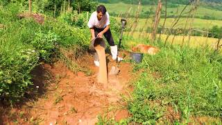 HOBBIT HOUSE | Construction From Earth | PERMACULTURE | TRANSYLVANIA WILD