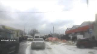 Фура без тормозов. Полная версия всей трагедии в Новороссийске 27.01.2015