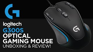 LOGITECH G300S Programmable Buttons Optical Macro Gaming Mouse G 300s