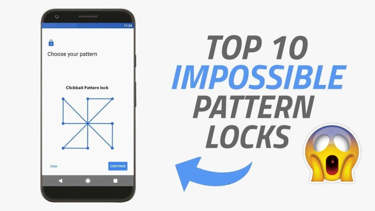 Remember Pattern Locks