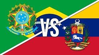 🇧🇷 Brazilian National Anthem vs. 🇻🇪 Venezuelan National Anthem!