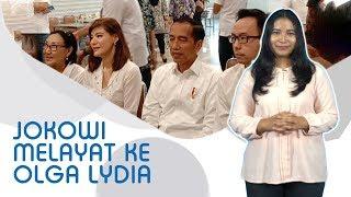 WIKI TRENDS - Olga Lydia Kaget Presiden Jokowi Datang Melayat ke Rumahnya