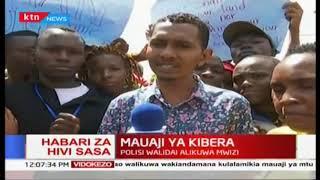 Maandamano Kibera baada ya polisi kumuua mwanafunzi wa chuo kikuu