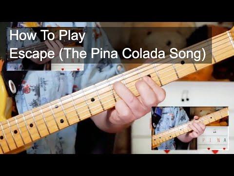 download lagu mp3 mp4 Pina Colada Song Guitar, download lagu Pina Colada Song Guitar gratis, unduh video klip Pina Colada Song Guitar