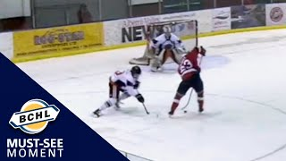Must-See Moment: Jackson Alexeev shows off his hands with a smooth deke for a goal