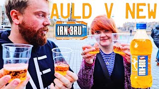 SCOTTISH REACTION TO NEW IRN-BRU
