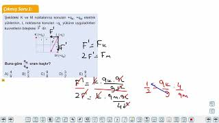 Eğitim Vadisi 11.Sınıf Fizik 16.Föy Elektriksel Kuvvet Konu Anlatım Videoları