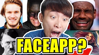 一秒令所有人笑?FACEAPP EVERYONE!