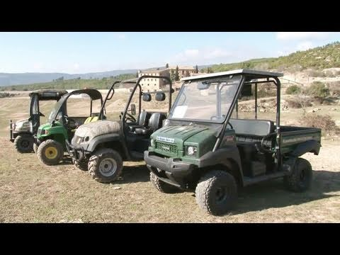 Fieldsports Britain – On test: Kawasaki Mule, JCB WorkMax, John Deere Gator and Kubota RTV