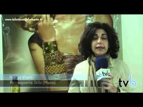 Ponte guap@. Televisión de Baleares. (Peluquería Muro - Mallorca)