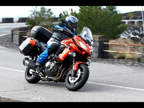 2015 Kawasaki Versys 1000 LT First Ride - MotoUSA