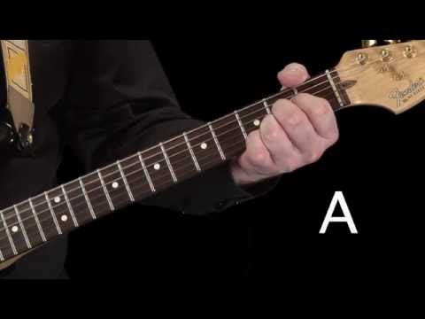 Learn Guitar Lessons - Chord positions