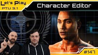 Star Citizen 3.1 PTU 🕹️ Character Editor First Look | LetsPlay [Deutsch/German]