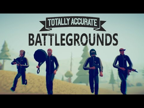 Totally Accurate Battlegrounds Multiplayer XEON E5 2640 + GTX 970 ( Ultra Graphics ) ТЕСТ
