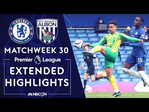 Chelsea v. West Brom | PREMIER LEAGUE HIGHLIGHTS | 4/3/2021 | NBC Sports