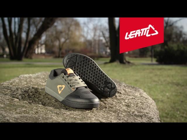 Видео Велосипедные туфли Leatt Shoe DBX 3.0 Flat (Forest)