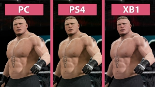 WWE 2K17 – PC vs. PS4 vs. Xbox One Graphics Comparison
