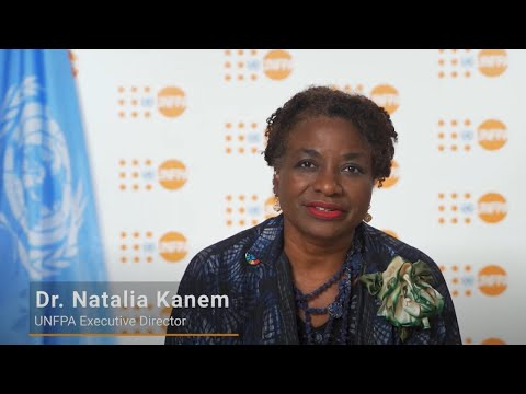 UNFPA Executive Director Dr. Natalia Kanem's Message on World Population Day