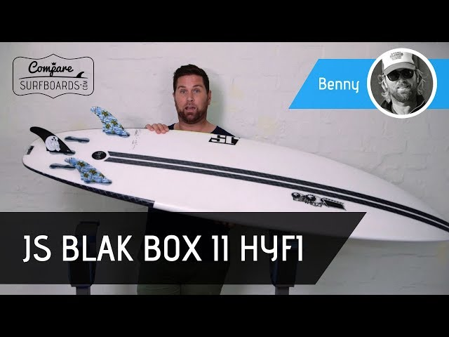 JS Surfboards HYFI (vs. PU) Blak Box 2 Surfboard Review | Compare Surfboards