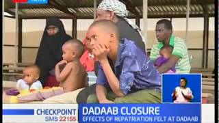 Dadaab Closure: Effects of repatriation felt at Dadaab,education and health among services affected