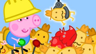 Peppa Pig Official Channel   George Pig's Perfect Day at the Digger World